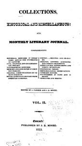 Collections, Historical and Miscellaneous: And Monthly Literary Journal, Volume 2