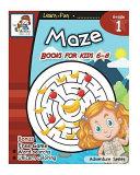 Maze Books for Kid 6-8
