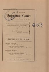 State of New York Supreme Court Appellate Division - Fourth Department