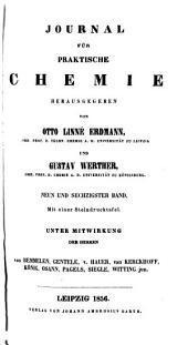 Journal für praktische Chemie: Bände 69-70