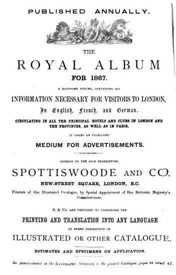 Paris Universal Exhibition of 1867  Catalogue of the British Section PDF