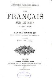 Les Français sur le Rhin (1792-1804)