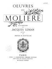 Oeuvres de Molière: Volume1
