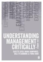 Understanding Management Critically PDF