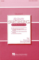 The Jenson Sight Singing Course