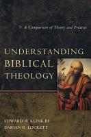 Understanding Biblical Theology PDF