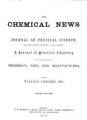 The Chemical News and Journal of Physical Science: Volume 8