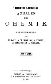 Justus Liebigs Annalen der Chemie: Band 229