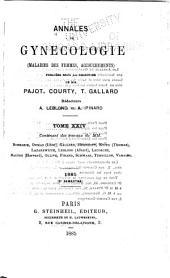 Annales de gynécologie et d'obstétrique: Volume24