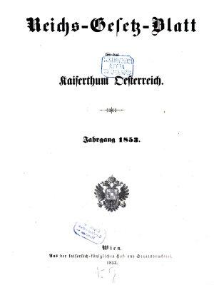 Reichsgesetzblatt f  r die im Reichsrathe vertretenen K  nigreiche und L  nder PDF
