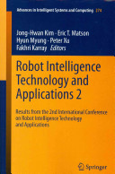 Robot Intelligence Technology and Applications 2 PDF