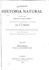 La Creación: Historia natural : división de la obra, zoología o reino animal