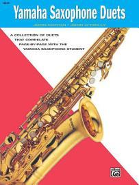 Yamaha E Flat Alto Saxophone Duets PDF