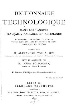 Technological dictionary PDF