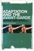 Adaptation and the Avant Garde PDF