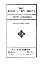 The Feast of Lanterns
