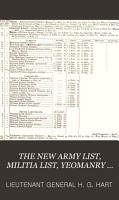 The new army list  by H G  Hart  afterw   Hart s army list   Quarterly  PDF