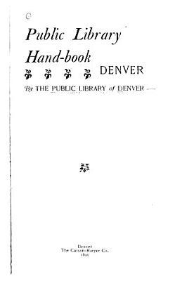 Public Library Handbook PDF