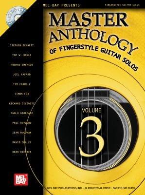 Download Master Anthology of Fingerstyle Guitar Solos  Volume 3 Book