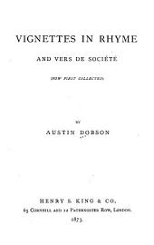 Vignettes in Rhyme and Vers de Société (now First Collected)