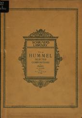 Selected compositions for pianoforte: المجلدات 1-2