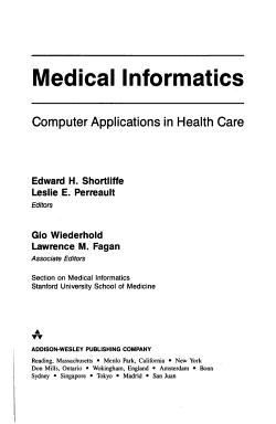 Medical Informatics PDF