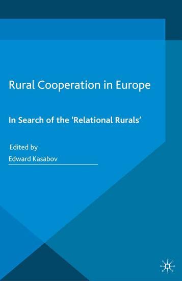 Rural Cooperation in Europe PDF