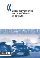 Local Economic and Employment Development  LEED  Local Governance and the Drivers of Growth PDF