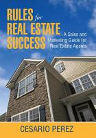 Rules for Real Estate Success PDF