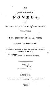 Exemplary Novels: Volume 1