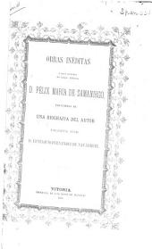 Obras inéditas: ó poco conocidas del insigne fabulista don Félix Maria de Samaniego