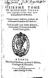 Les Histoires Tragiques: Volume6