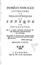 Pensées morales, littéraires et philosophiques: Volume2