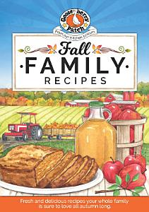 Fall Family Recipes Book