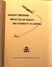 Aircraft emissions: impact on air quality and feasibility of control