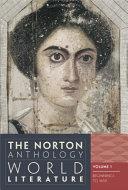 The Norton Anthology of World Literature Book