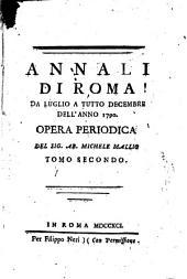 Annali di Roma ...: opera periodica, Volume 2
