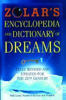 Zolar s Encyclopedia and Dictionary of Dreams PDF