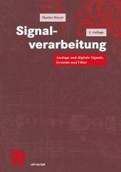 Signalverarbeitung: Analoge und digitale Signale, Systeme und Filter, Ausgabe 3