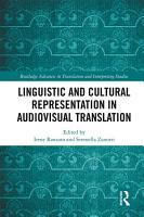 Linguistic and Cultural Representation in Audiovisual Translation PDF