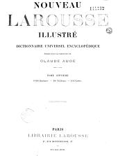 Nouveau Larousse illustré: dictionnaire universel encyclopédique, avec un volume de supplément et complément