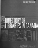 Directory of Libraries in Canada PDF