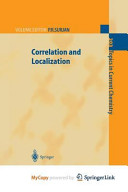 Correlation and Localization