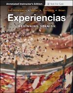 Experiencias, Annotated Instructor's Edition