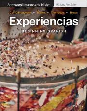 Experiencias  Annotated Instructor s Edition PDF