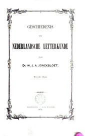 Geschiedenis der Nederlandsche letterkunde: Volume 2