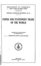 Special consular reports: Volume 73