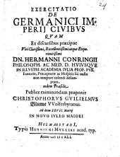 De Germanici imperii civibus