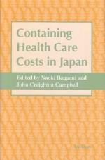 Containing Health Care Costs in Japan