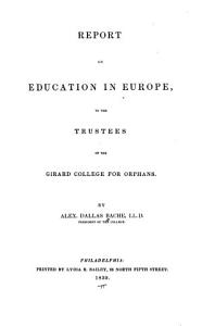 Report on Education in Europe PDF